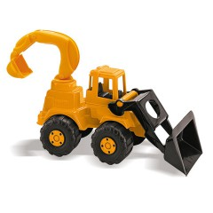 Toys Trucks. Excavator Retro Road Works.Item.5113