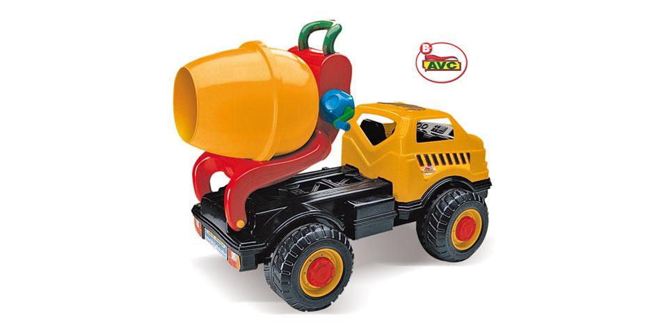 Toys trucks. Concrete Truck Road Works in box. Item.5159