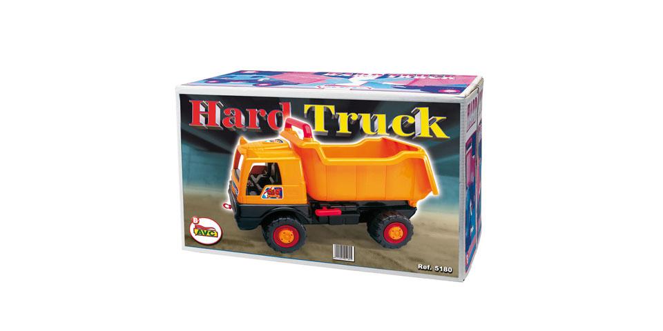 Camiones. Camión Hard Truck road Works en caja.Ref.5180