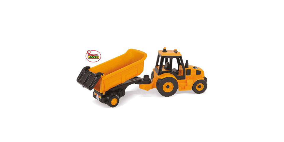 Toys Trucks. Tractor with Tipper Road Works.Item.5212