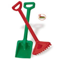Toys Beach & Outdoor. Shovel and rake.Item.4000