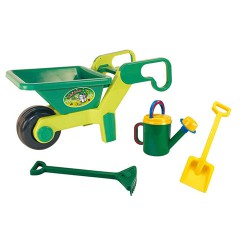 Toys Beach & Outdoor. Wheel barrow and garden set.Item.5004