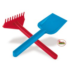 Toys Beach & Outdoor. Shovel and rake.Item.1000