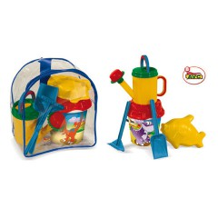 Toys Beach & Outdoor. Rucksack and beach set.Item.1504