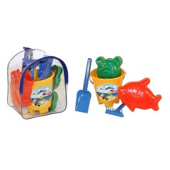 Toys Beach & Outdoor. Rucksack with beach set.Item.1511