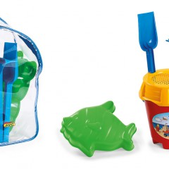 Toys Beach & Outdoor. Beach set and rucksack.Item.1519