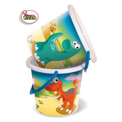Toys Beach & Outdoor. Decorated bucket no.2.Item.3016