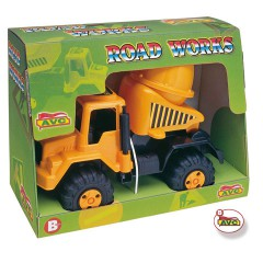 Toys Trucks. Concrete mixer truck Road Works.Item.5106