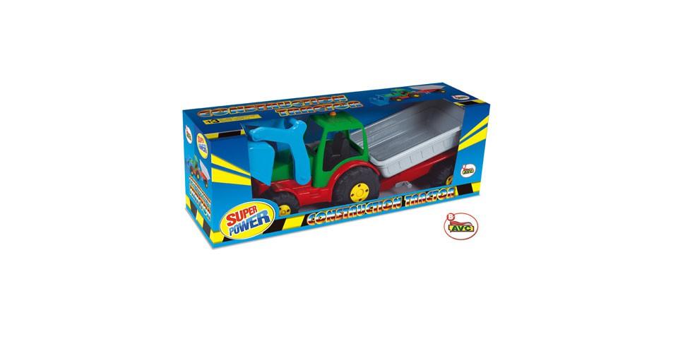 Camiones. Tractor con Pala y Remolque en caja.Ref.5196