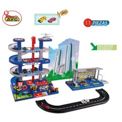 Toys Parkings. Parking  Petrol Station + Circuit. Item751