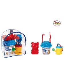 Toys Beach & Outdoor. Beach set and rucksack.Item.1508