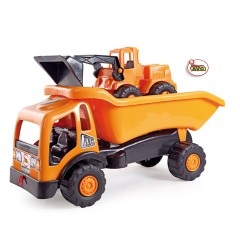 Toys Trucks. Tipper truck and Excavator Road Works.Item.5173