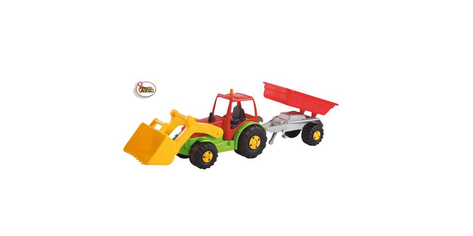 Camiones. Tractor con Remolque y Pala AVC  Ref. 5251