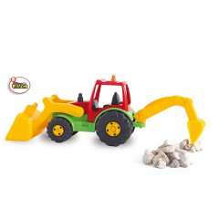 Trucks. Tractor shovel and retro AVC  Ref. 5252
