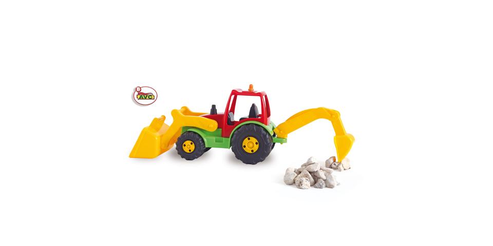 Trucks. Tractor shovel and retro AVC  Ref. 5252