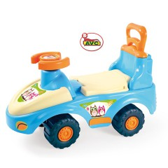 Toys Ride – Ons. Car 2×1 Hugs & Owl Item.6066