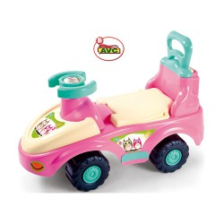 Toys Ride – Ons. Car girl  2×1 Hugs & Owl Item.6067