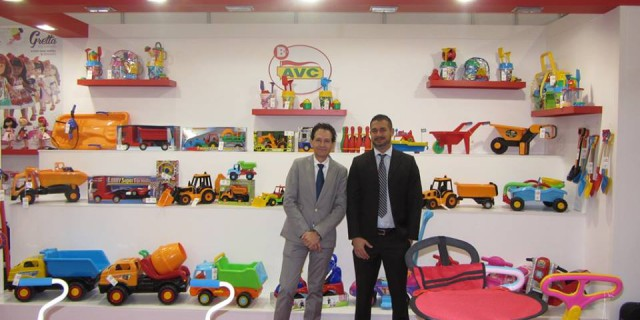 AVC PRESENT ONE YEAR MORE IN NUREMBERG TOY FAIR