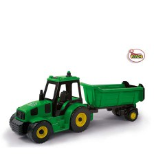 TOYS TRUCKS. TRACTOR WITH TIPPER