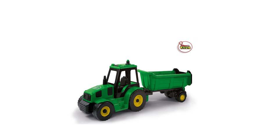 Juguetes Camiones. Excavadora + Volquete Farmer Friend
