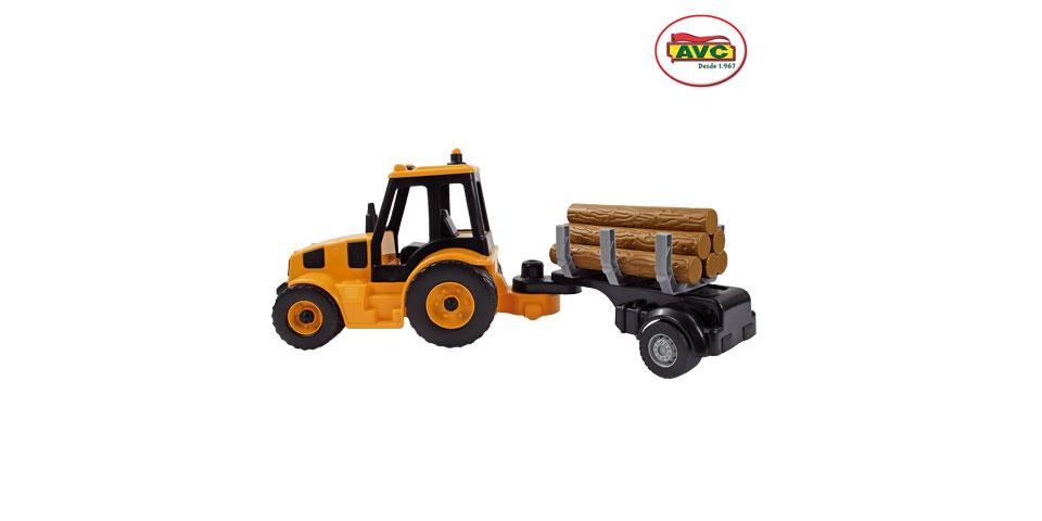 Camiones. Tractor remolque con troncos Ref.5365