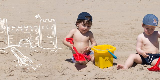 Cubos playa