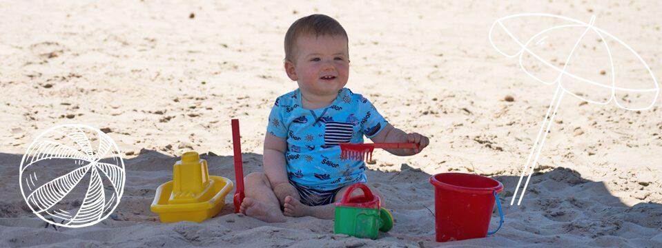 Cubos para la playa