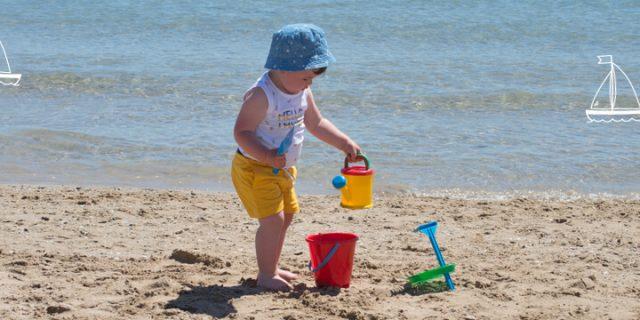 Cubos playa variados