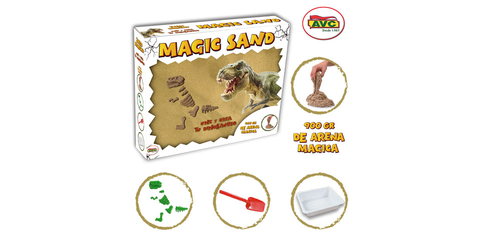 PLAY & LEARN. MAGIC SAND.  REF. 1270